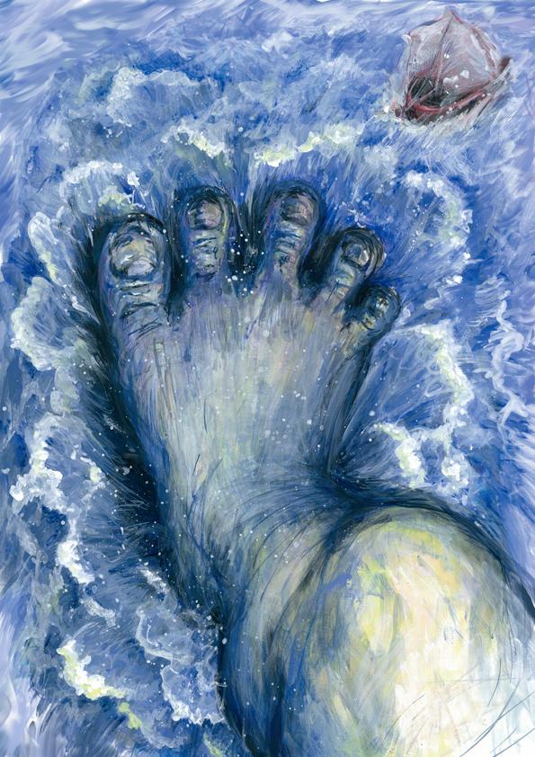 「我が儘な巨人の足音」イメージ